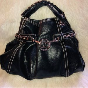 Large Bebe bag with chains